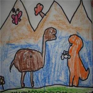 恐龙蛋蛋儿童之家托班绘画