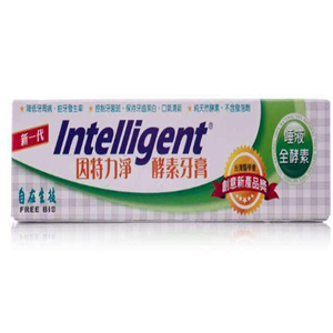 因特力净酵素牙膏绿茶