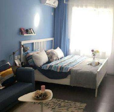 乐乎公寓蓝色