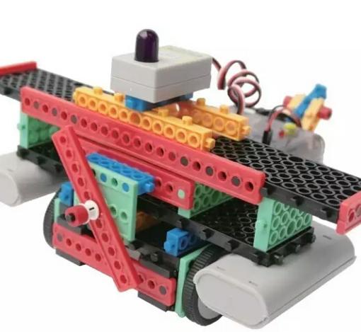 儿童科技营STEAM乐高机器人快乐