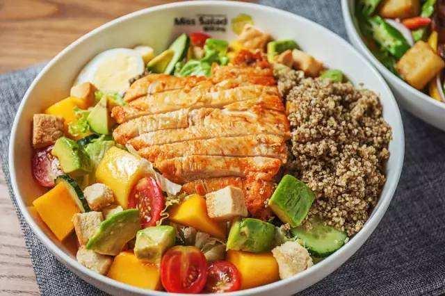 梦想主题健康减肥餐厅