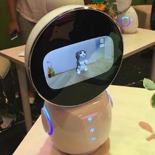 mxm智能教育机器人的陪伴机器人