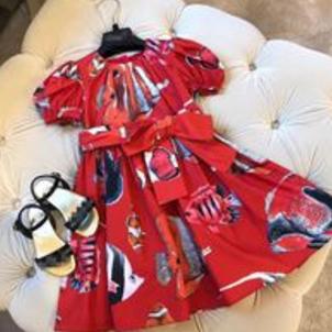 netaikyo熱帶魚服飾純棉公主裙