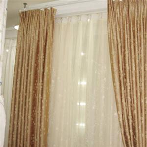 利隆窗飾金色