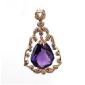 莱斯美珠宝首饰紫色