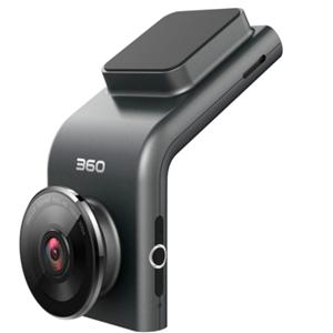 360行车记录仪黑色
