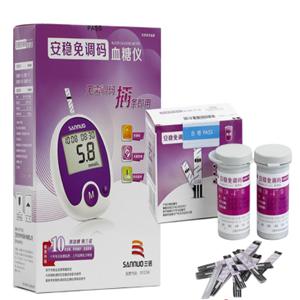 三诺血糖仪紫色