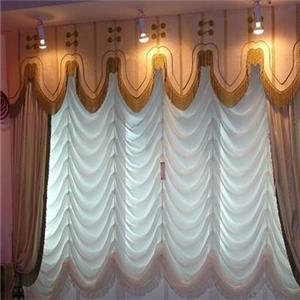 誠然窗飾海浪紋窗簾