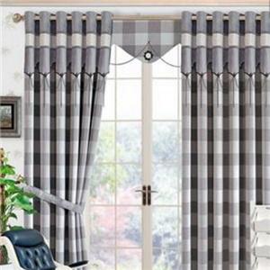 布簾窗簾格子布簾