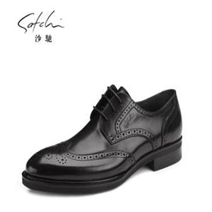 沙驰男鞋皮鞋