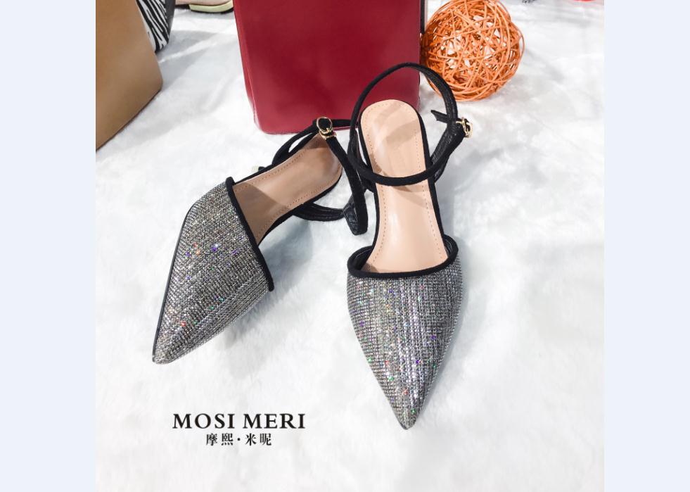 摩熙米昵女鞋细节