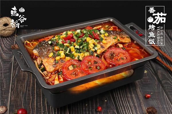 鱼谷稻烤鱼饭细节