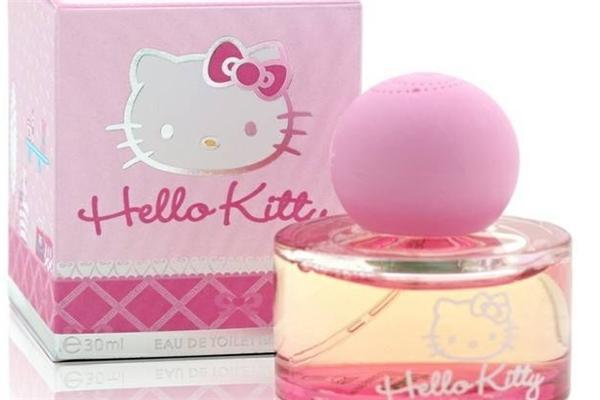 hello kitty香水粉色香水