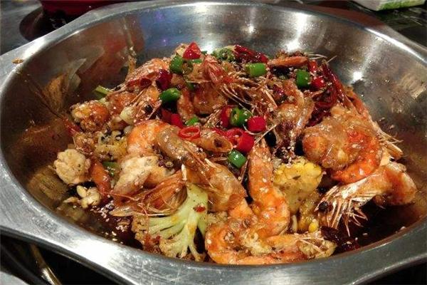 佰年王婆大虾花菜