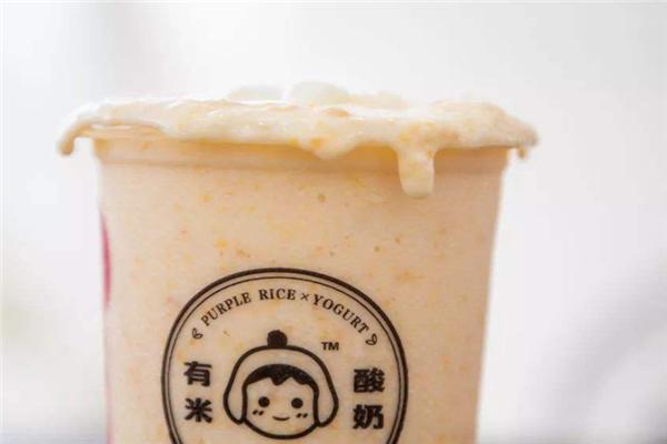 有米酸奶芒果冰沙