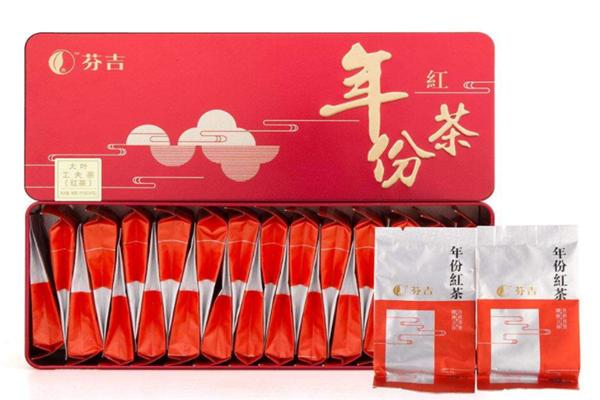 芬吉茶叶红色