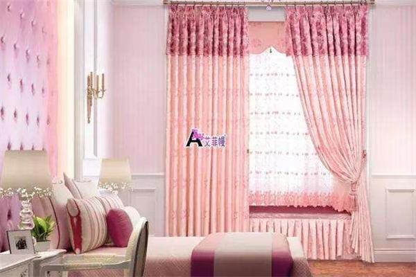 艾菲幔窗帘枕头