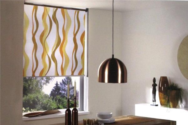 布簾窗簾餐廳窗簾