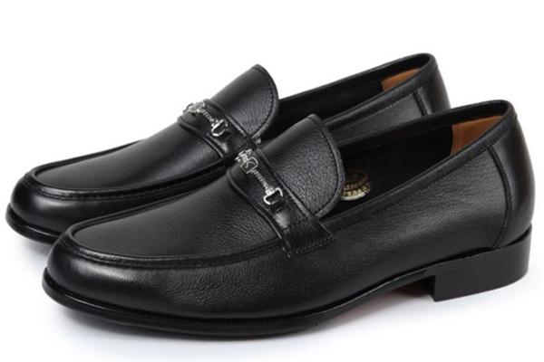 沙驰男鞋黑色