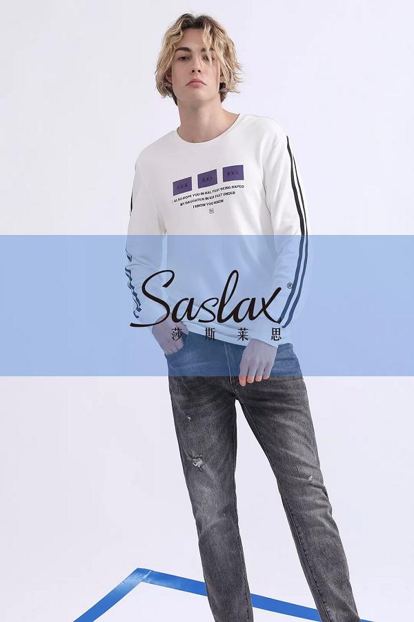 Saslaxbeplay莎斯莱思男装,一款适合你的时尚卫衣,瞬间提升个人品位