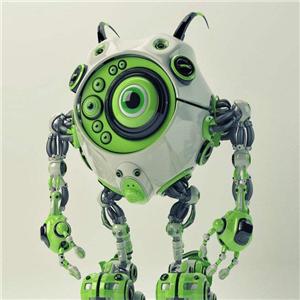 奇幻机器人绿色
