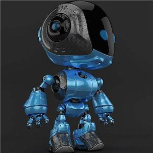 奇幻机器人黑色