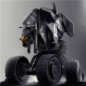 奇幻机器人灰暗