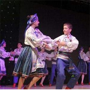 爱琴海少儿舞蹈团表演