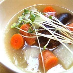 汇芝康五行蔬菜汤美味