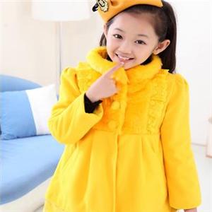 漂亮宝贝童装黄色