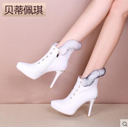 貝蒂佩琪女鞋白色