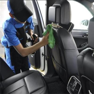 華盛中國車內清潔