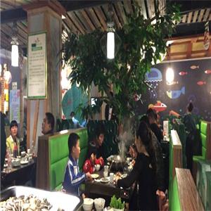 人魚座膠原黃骨魚店內用餐