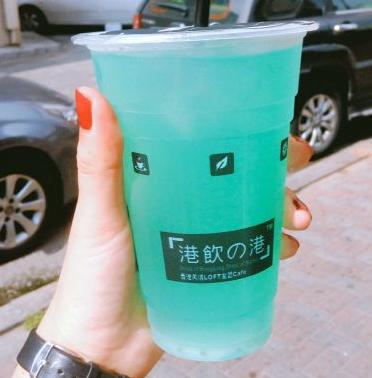 港饮之港甜品蓝色幻城