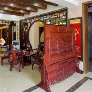 興成紅木家具屏風