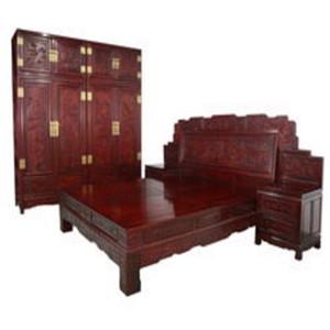 興成紅木家具三件