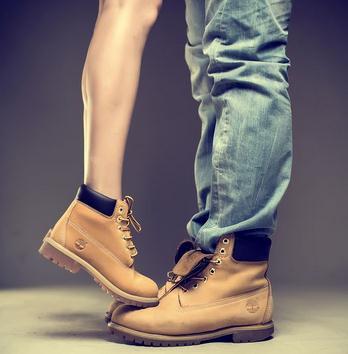 timberland登山鞋情侶鞋