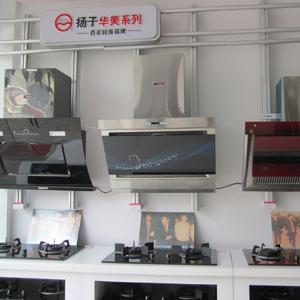 扬子集团厨卫电器展示
