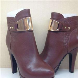 佰莉文女鞋红皮鞋