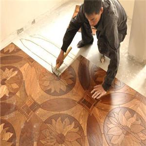 德威自发热地板安装