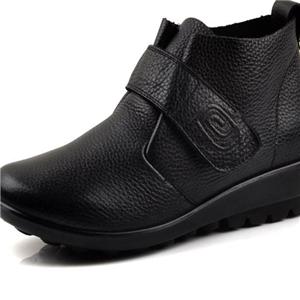 木林森女鞋休闲黑色