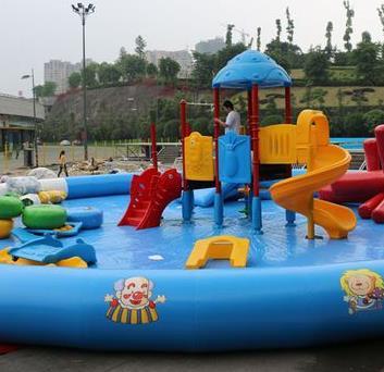 童乐堡儿童乐园水池