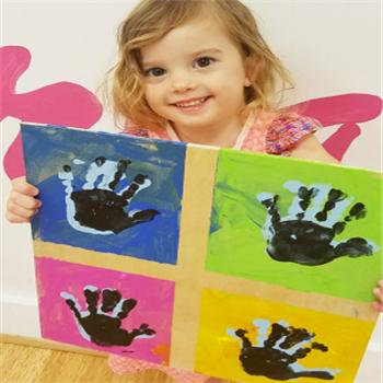 艾涂圖兒童美術中心手掌畫