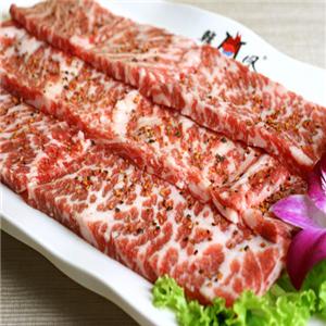 韩式炭火烤肉肉
