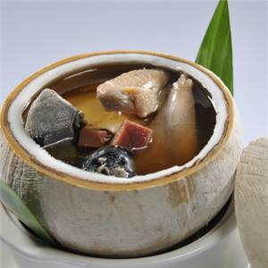 江南春天椰子鸡火锅