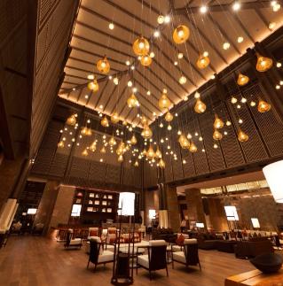 佳兆業萬豪酒店用餐環境