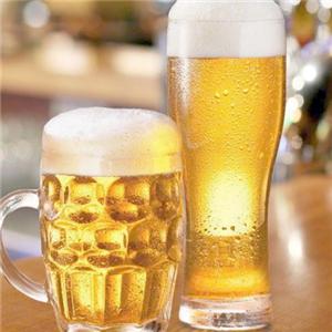 奥贝啤酒展示