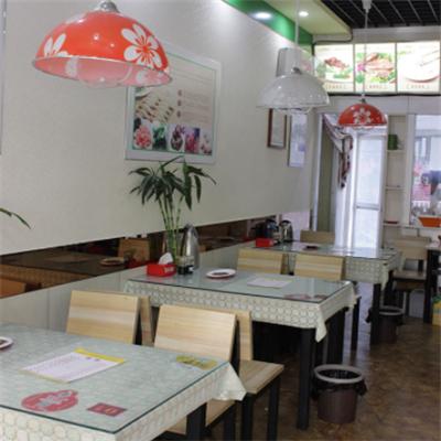 多福水饺店内陈设