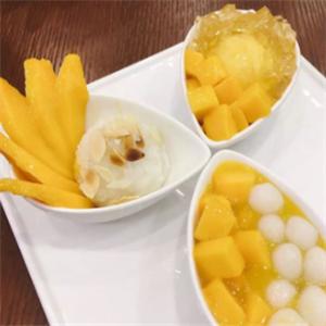 芒果香山甜品美味