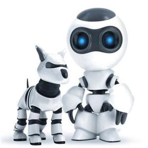 机器人教育培训班白色